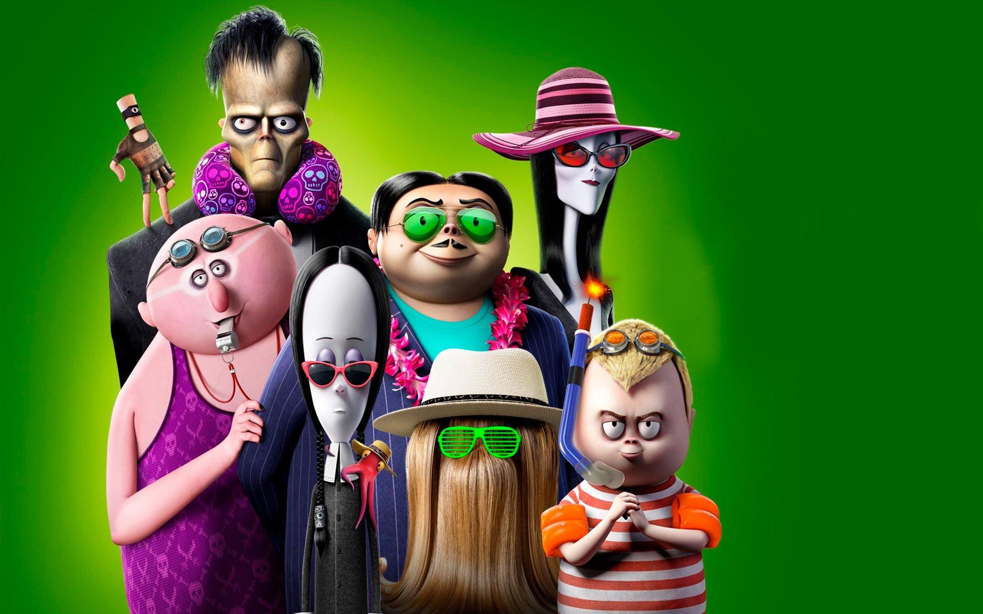 Смотри фильм Семейка Аддамс: Горящий тур в кинотеатре